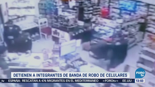 Cae hombre por robo con violencia a negocio en CDMX