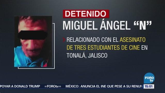 Cae otro implicado caso de estudiantes de cine en Jalisco