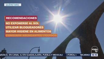 Calor Tregua Querétaro Onda Alerta Salud