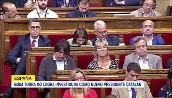 Candidato Designado Puigdemont Logra Mayoría Primera Votación
