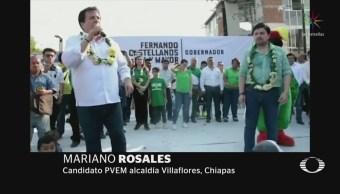 Candidatos de Chiapas votarán por AMLO