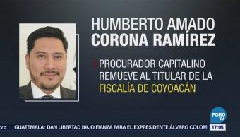 Cesan al fiscal de Coyoacán tras sustracción de joyas robadas