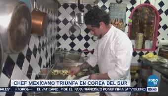Chef mexicano triunfa en Corea del Sur
