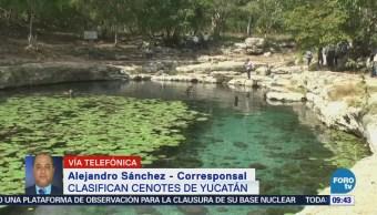 Clasifican cenotes en Yucatán