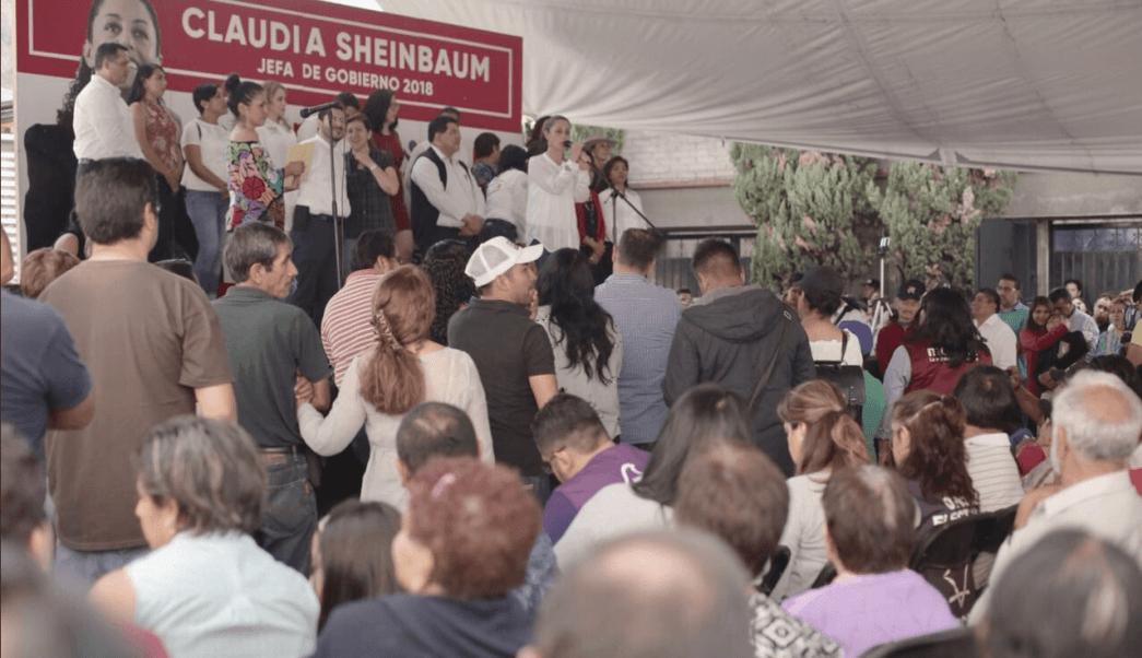 Sheinbaum responsabiliza a autoridades capitalinas de la inseguridad
