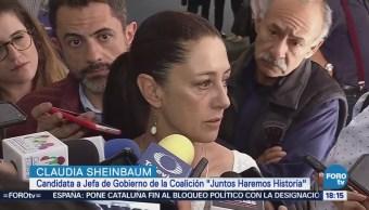 Claudia Sheinbaum Propone Tiempo Damnificados