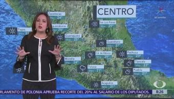 Clima Al Aire Dominará Cielo Medio Nublado Valle De México