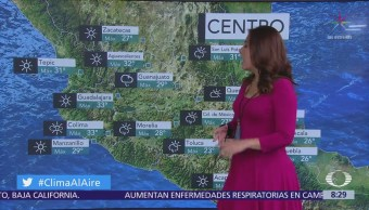 Clima Al Aire: Prevén tormentas fuertes en el Valle de México