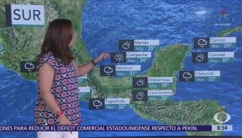 Clima Al Aire: Pronostican cielo nublado y lluvia en la CDMX