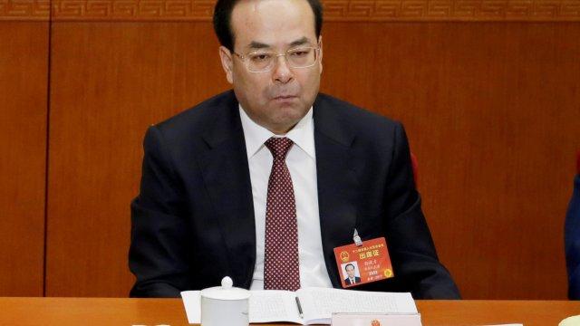 Condenan cadena perpetua alto funcionario chino aceptar sobornos