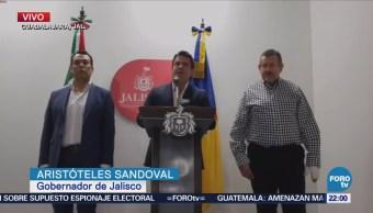 Conferencia de prensa Aristóteles Sandoval gobernador