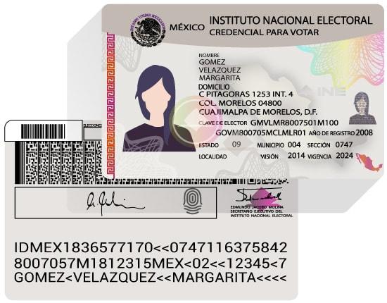 credencial-elector-para-votar-ine-mexico-documento-identidad