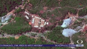 Corea del Norte desmantela centro de pruebas nucleares