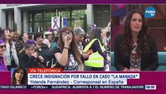 Crece Indignación Fallo Caso La Manada