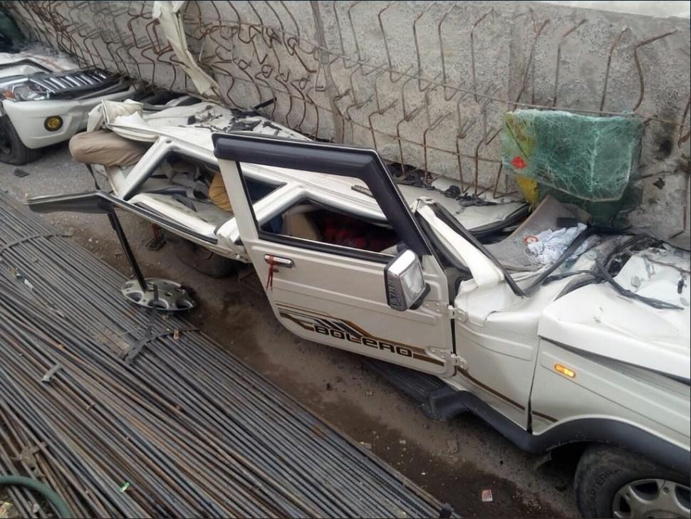 derrumbe de obra en varanasi india deja 10 muertos