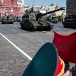Ejército Ruso Día Victoria Misiles Dron