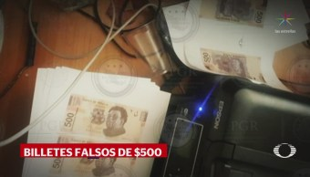 Desmantelan Fábrica Billetes Falsos Iztapalapa CDMX