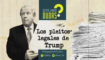 #DespejandoDudas Pleitos Legales Trump, Genaro Lozano,