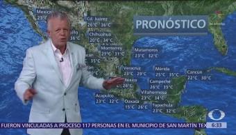 Despierta Tiempo Tormentas fuertes sur sureste México Despierta con Tiempo