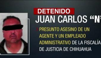 Detienen en Cd Juárez a El Charly integrante de Los Aztecas