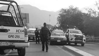 Detienen a cuatro hombres con armas en Nuevo León
