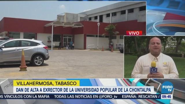 Detienen a dos agresores del exrector de la Universidad de Chontalpa, Tabasco