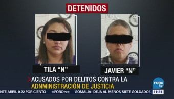 Detienen a dos exfuncionaros de Quintana Roo por procesar a periodista