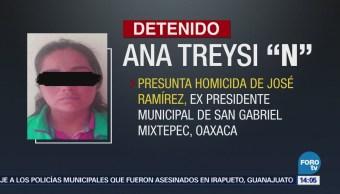 Detienen Presunta Homicida Expresidente Municipal Oaxaca