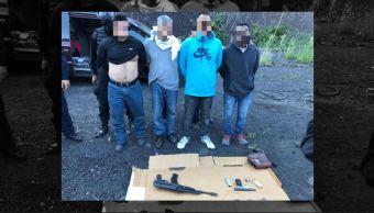 Detienen a 4 secuestradores cuando iban a enterrar a sus víctimas en Iztapalapa