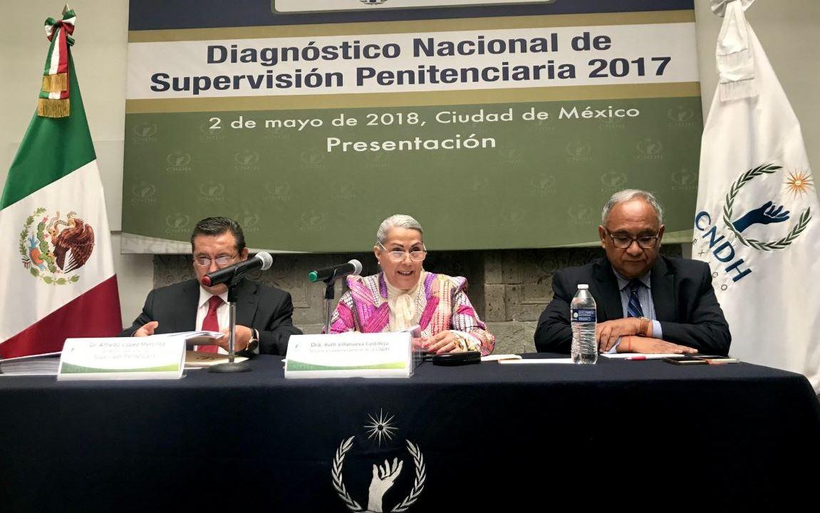 CNDH alerta crisis en cárceles de México