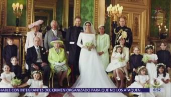 Difunden fotos oficiales de la boda del príncipe Enrique y Meghan Markle