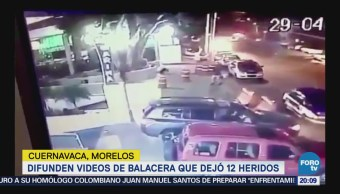 Difunden Video Balacera Heridos Morelos Cuernavaca