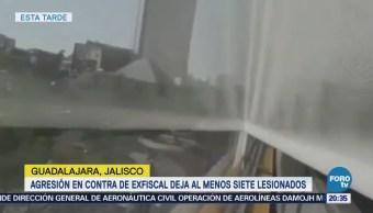Difunden videos de la balacera en Jalisco