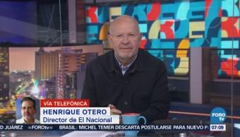 Director de 'El Nacional' de Venezuela denuncia amenazas del Gobierno