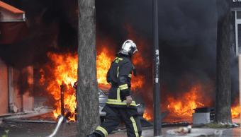 Disturbios en la manifestación del 1 de mayo en París
