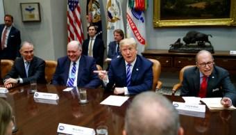 Trump sobre TLCAN: Veremos si logramos que sea algo razonable