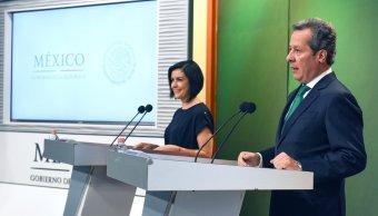 Renuncia de Zavala es parte del proceso electoral, señala Eduardo Sánchez