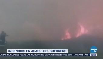 Incendios Acapulco Acción Hombre