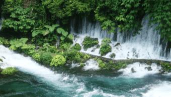 'El Descabezadero', nacimiento del río Actopan, es un atractivo turístico de Veracruz