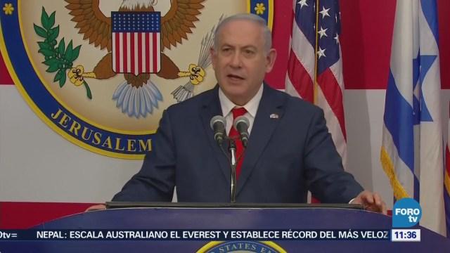 """""""El mundo observa un momento histórico que no podría haber ocurrido sin Trump: Netanyahu"""""""