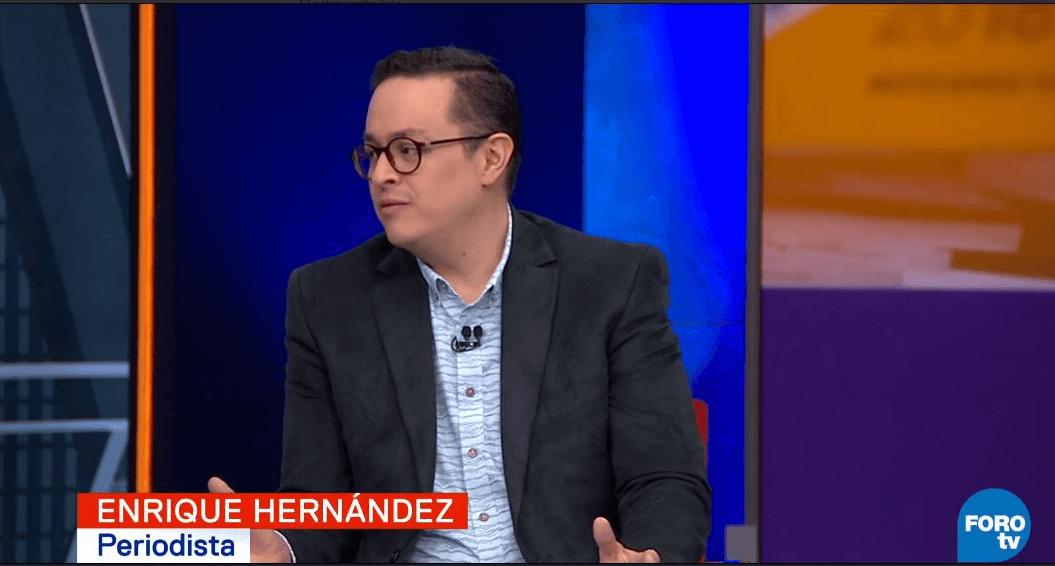 El periodista Enrique Hernández. (FOROtv)