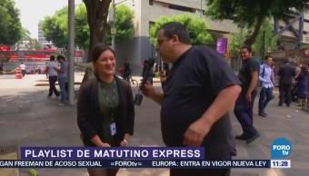 presenta el Playlist de Matutino Express