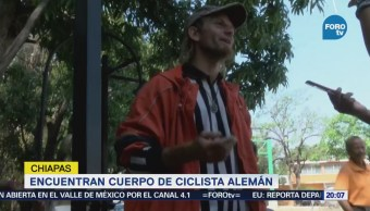 Encuentran Cuerpo Ciclista Alemán Chiapas Holger Franz