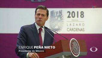 EPN critica a quienes consideran que todo ven mal