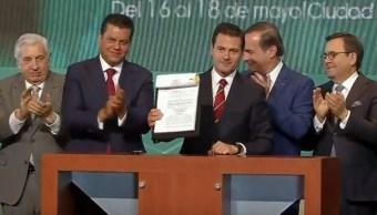 Peña Nieto: Corrupción e impunidad no desaparecen con buenos deseos