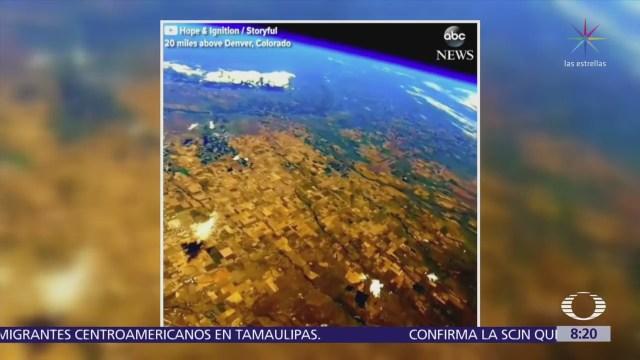 Espectacular Imagen Tierra Desde Estratosfera