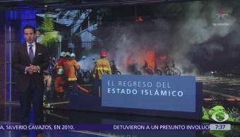 Estado Islámico se atribuye ataques suicidas contras iglesias en Indonesia