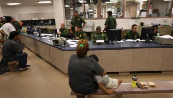Estados Unidos huellas padres que reclamen niños migrantes