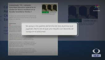 Estudiante Herido Colonia Morelos Sigue Hospitalizado