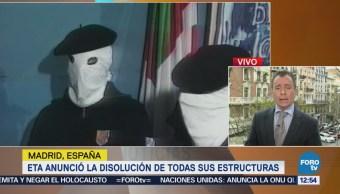 ETA anuncia la disolución de toda su estructura